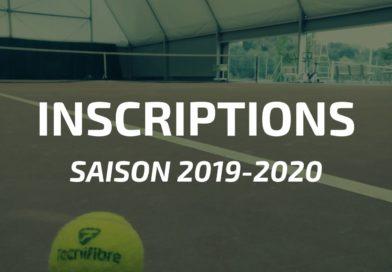 Saison 2019-2020 : comment vous inscrire au club ?