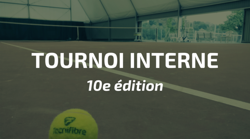 Tournoi interne 2020